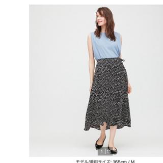 UNIQLO - タグ付き ダルメシアン柄 スカート