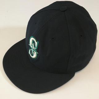 ニューエラー(NEW ERA)のUSA製 シアトルマリナーズ MLBオフィシャルキャップ 希少 ニューエラ 美品(キャップ)
