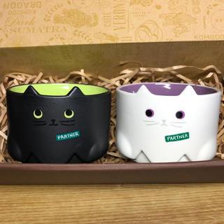 Starbucks Coffee - スターバックス ハロウィン スタッキングマグ 2点セット キャット マグカップ
