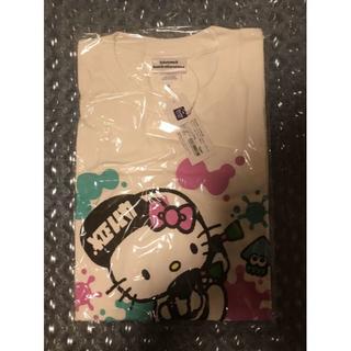 ニンテンドウ(任天堂)の新品スプラトゥーン Splatoon2 サンリオコラボ ハローキティー Tシャツ(Tシャツ/カットソー(半袖/袖なし))