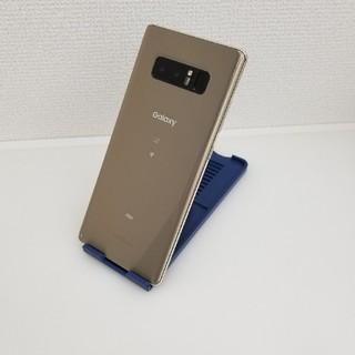 サムスン(SAMSUNG)の589 au SIMロック解除済 SCV37 Galaxy Note8 ジャンク(スマートフォン本体)