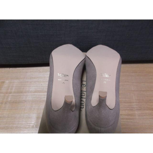 Le Talon(ルタロン)の未使用・Le Talonの5.5cmポインテッドスエードパンプス レディースの靴/シューズ(ハイヒール/パンプス)の商品写真