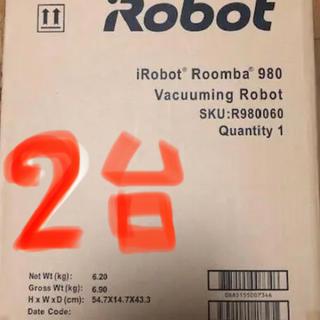 i robot ロボット掃除機 ルンバ 上位モデル r980060 新品未開封