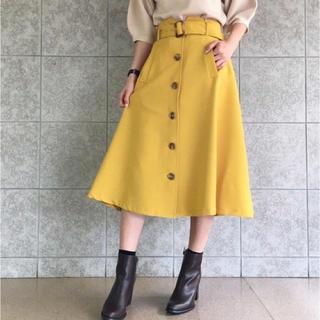 dholic - カルゼトレンチフレアスカート