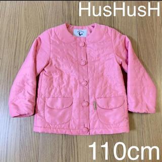 ハッシュアッシュ(HusHush)のHusHusH コート アウター ジャケット 上着 110cm 女の子 ピンク(コート)