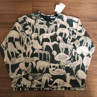 ミナペルホネン(mina perhonen)の新品 ミナペルホネン   life puzzle 長袖 カットソー  130cm(Tシャツ/カットソー)