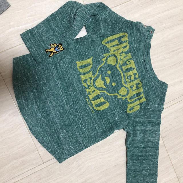 MARKEY'S(マーキーズ)のマーキーズ ロンT 80センチ 2枚セット 長袖 キッズ/ベビー/マタニティのベビー服(~85cm)(Tシャツ)の商品写真