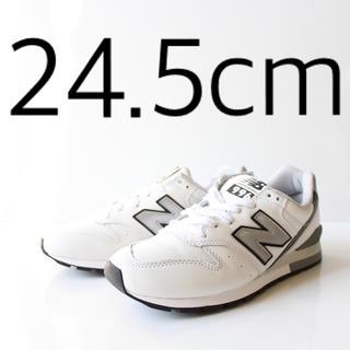 ニューバランス(New Balance)の新品 ニューバランス CM996 NA ホワイト レザー 24.5cm(スニーカー)