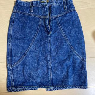 サンタモニカ(Santa Monica)のEAGLE vintage デニムスカート (ひざ丈スカート)