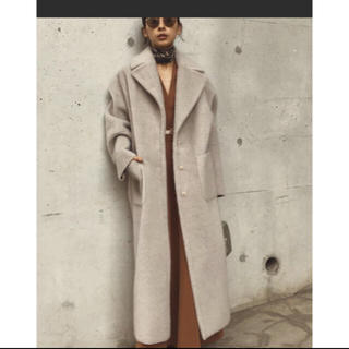 Ameri VINTAGE - Ameri☆ BLANKET LIKE FAKE MOUTON COAT