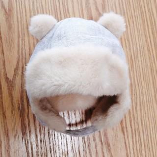 babyGAP - 美品 クマ耳帽子
