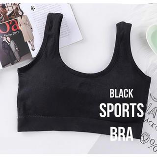 スポーツブラ ナイトブラ【ブラック】10月限定値下げ(ヨガ)