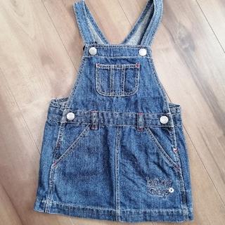 ベビーギャップ(babyGAP)のbaby GAP 90 オーバーオールスカート(スカート)