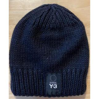 ワイスリー(Y-3)のY-3 帽子 ニット帽(ニット帽/ビーニー)