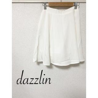 ダズリン(dazzlin)の☆dazzlin☆ ダズリン スカート 白 Sサイズ(ミニスカート)