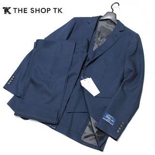 THE SHOP TK - 新品 L THE SHOP TK ウォッシャブル シャドーストライプ 3Pスーツ