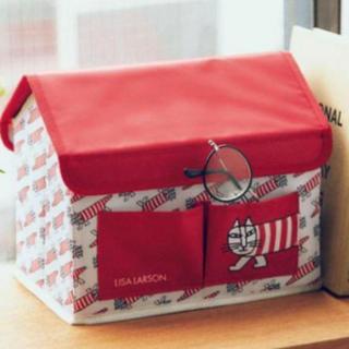 Lisa Larson - リサラーソン マイキーのハウス形収納BOX