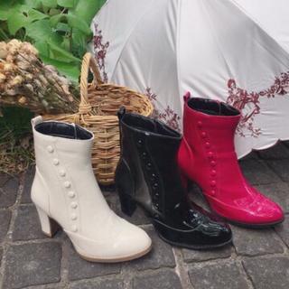 フィント(F i.n.t)の釦使いレインブーツ(レインブーツ/長靴)