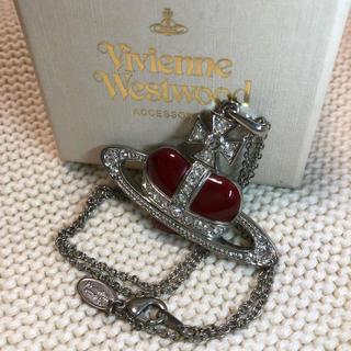 Vivienne Westwood - ヴィヴィアン ディアマンテネックレス 赤