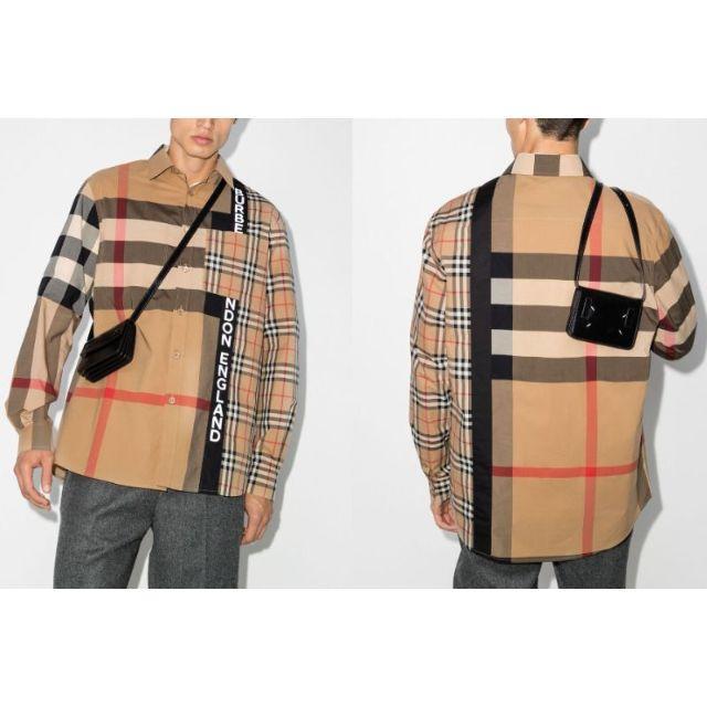 BURBERRY(バーバリー)の新品 20-21AW Burberry オーバーサイズ コットン シャツ  メンズのトップス(シャツ)の商品写真