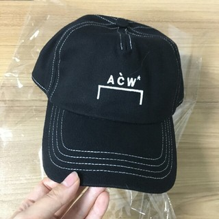 OFF-WHITE - A-COLD-WALL ACW キャップ ブラック