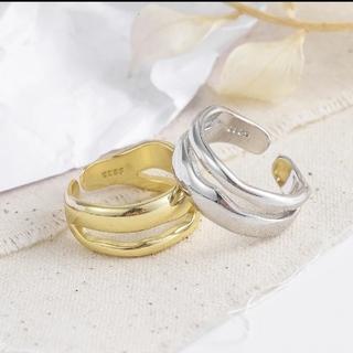 エテ(ete)のシルバーアクセサリー925③ゴールド(リング(指輪))