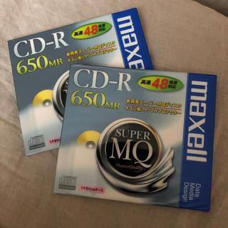 maxell CD-R 650MB. 2枚