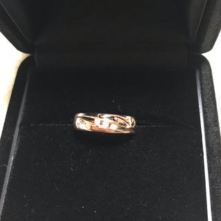 【新品】ダイヤモンド ピンクゴールド ピンキーリング(リング(指輪))