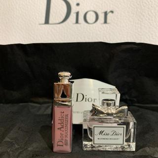 Christian Dior - ディオール ミニリップとフレグランス ショッパー付き