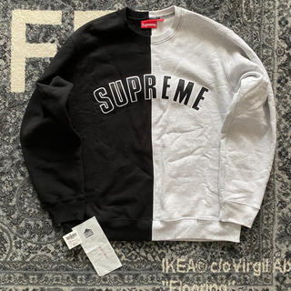 Supreme - supreme split crewneck sweatshirt