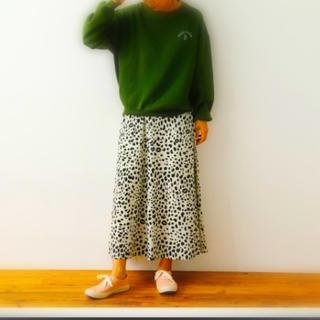 ロデオクラウンズワイドボウル(RODEO CROWNS WIDE BOWL)の✴︎新品未使用タグ付✴︎animal pattern skirt(ロングスカート)