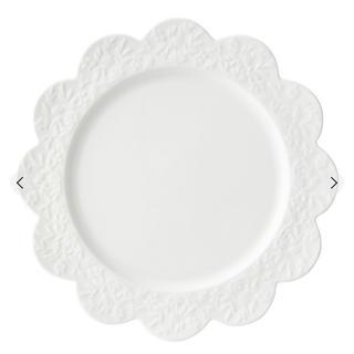 フランフラン(Francfranc)のFrancfranc フランフラン お花 プレート 皿 M 1点 【送料無料】(食器)