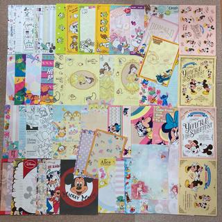 Disney - ディズニー バラメモ100枚+シール20枚 紙モノ おすそ分け 1