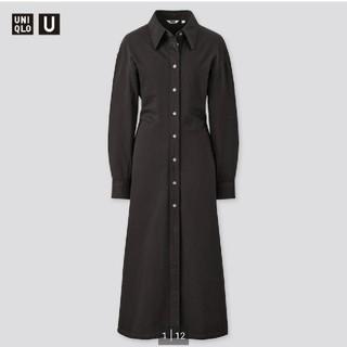 UNIQLO - 完売UNIQLO Uシャツワンピース 新品 Lサイズ