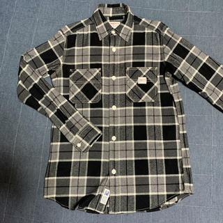 スミス(SMITH)のSMITH'S(スミス) チェックシャツ メンズ 黒 S(シャツ)