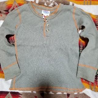 ブーフーウー(BOOFOOWOO)の未着用 ブーフーウー ワッフルロンT 110(Tシャツ/カットソー)