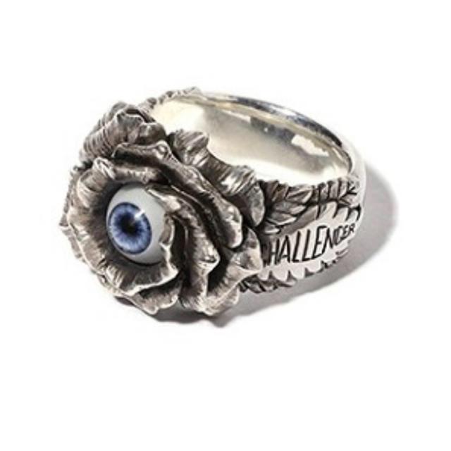 NEIGHBORHOOD(ネイバーフッド)のCHALLENGER ROSE EYE RING 10周年記念 指輪 メンズのアクセサリー(リング(指輪))の商品写真