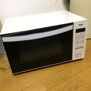 Haier - ハイアール 電子レンジ オマケ: 無印良品 キャニスター 缶2個 MUJI