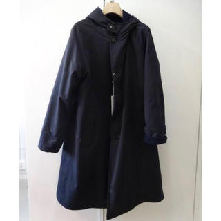 COMOLI - 15aw comoli フーデッドコート ネイビー サイズ2
