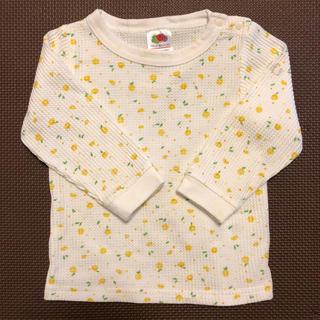 petit main - プティマイン フルーツコラボ ワップルTシャツ