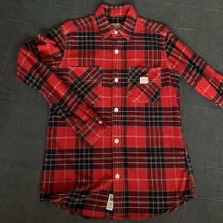 スミス(SMITH)のSMITH'S(スミス) チェックシャツ メンズ 赤 S(シャツ)