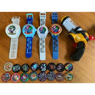 バンダイ(BANDAI)の値下げ‼︎ 妖怪ウォッチ メダル&時計&トレジャーギア(キャラクターグッズ)