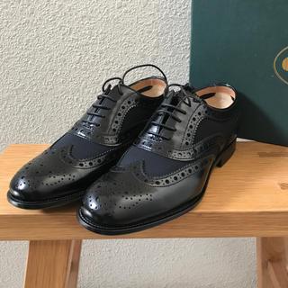 チャーチ(Church's)のchurch's チャーチ 新品未使用 メッシュ&レザー バーウッド(ローファー/革靴)