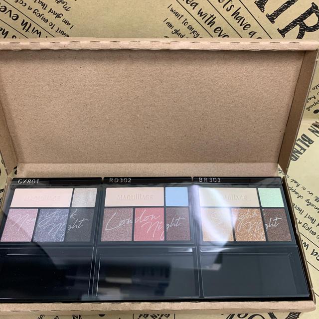 MAQuillAGE(マキアージュ)のマキアージュドラマティックスタイリングアイズ3色 コスメ/美容のベースメイク/化粧品(アイシャドウ)の商品写真