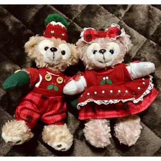 ディズニー(Disney)のダッフィー&シェリーメイ☆*。クリスマス(2013ver.)(ぬいぐるみ)