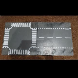 レゴ(Lego)のLEGO 道路 プレート 基礎板 2枚 ロード(積み木/ブロック)
