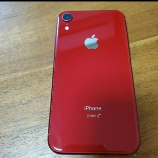 iPhone - iPhoneXR 128GB (赤ロム)