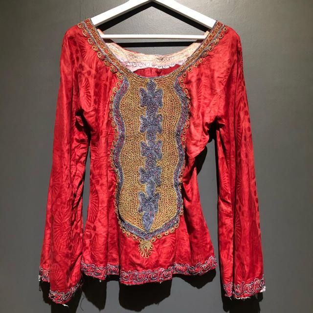 mother(マザー)のヴィンテージ民族衣装 レディースのトップス(シャツ/ブラウス(長袖/七分))の商品写真