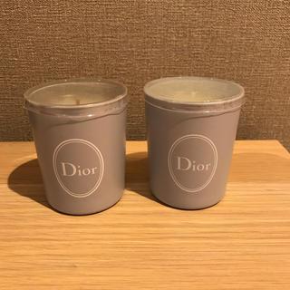 ディオール(Dior)のDior アロマキャンドル2個(アロマ/キャンドル)