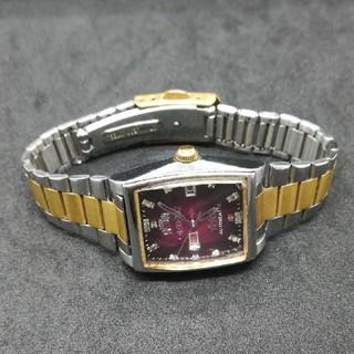 オリエント スリースター 自動巻き 腕時計 レディース
